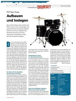 DrumHeads Instrumente & Technik: PDP Main Stage