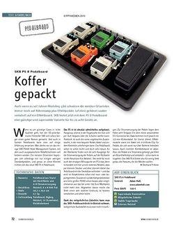 Soundcheck Test: SKB PS 8 Pedalboard - Koffer gepackt