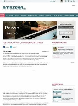 Amazona.de Test: VOX, AC30VR, Gitarrenverstärker