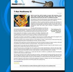 MusicRadar.com T-Rex Mudhoney II