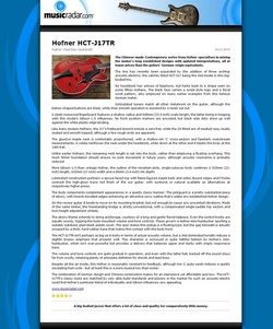 MusicRadar.com Hofner HCT-J17TR