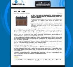 MusicRadar.com Vox AC30VR