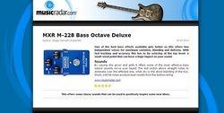 MusicRadar.com MXR M-228 Bass Octave Deluxe