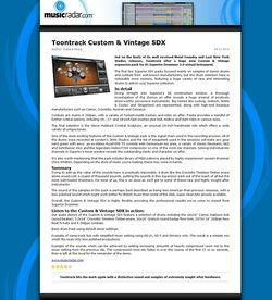 MusicRadar.com Toontrack Custom & Vintage SDX