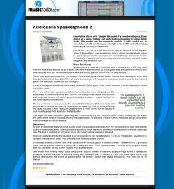 MusicRadar.com AudioEase Speakerphone 2