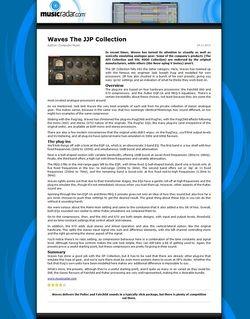 MusicRadar.com Waves The JJP Collection