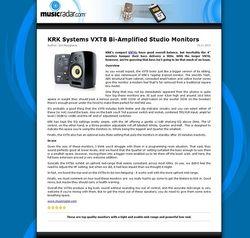 MusicRadar.com KRK Systems VXT8 Bi-Amplified Studio Monitors