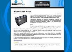 MusicRadar.com Roland CUBE Street
