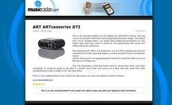 MusicRadar.com ART ARTcessories DTI