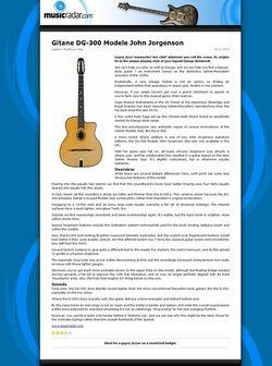 MusicRadar.com Gitane DG-300 Modele John Jorgenson