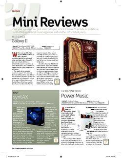 Computer Music Best Service Galaxy II