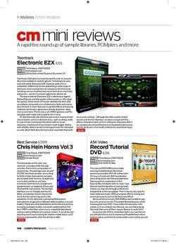 Computer Music electronic eZX