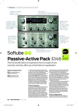 Computer Music PassiveActive Pack