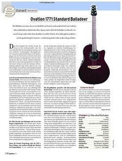 Guitar Ovation 1771 Standard Balladeer