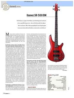 Guitar Ibanez SR-500 BM