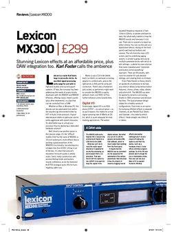 Future Music Lexicon MX300