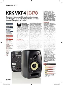 Future Music KRK VXT 4