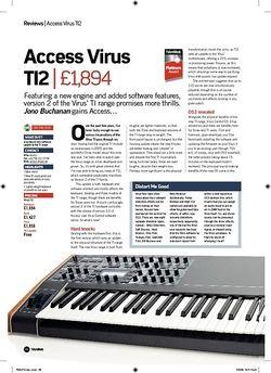 Future Music Access Virus TI2