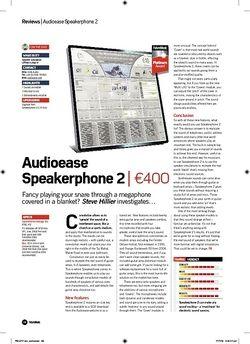 Future Music Audioease Speakerphone 2