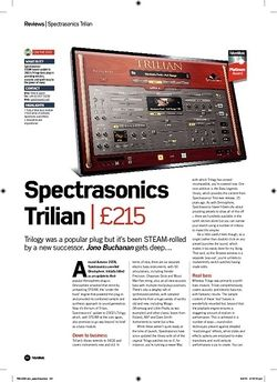 Future Music Spectrasonics Trilian