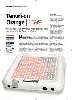 Future Music Tenorion Orange