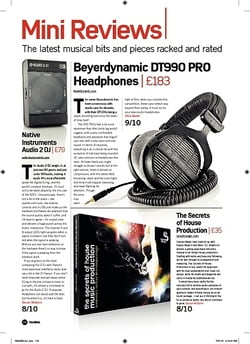Future Music Beyerdynamic DT990 PRO Headphones