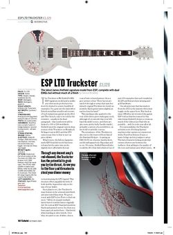 Guitarist ESP LTD Truckster