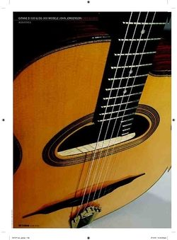 Guitarist DG300 Modele John Jorgenson