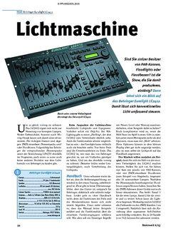 Tastenwelt Test: Behringer Eurolight LC2412 - Lichtmaschine