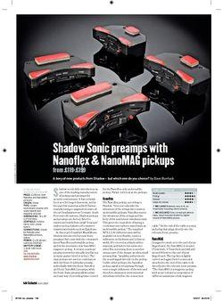 Guitarist Shadow Sonic Nanoflex