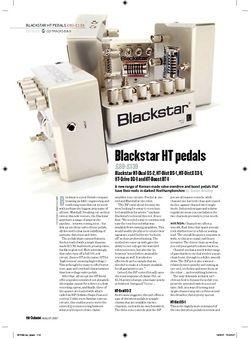 Guitarist Blackstar HTBoost BT1