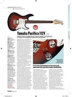 Guitarist Yamaha Pacifica 112V