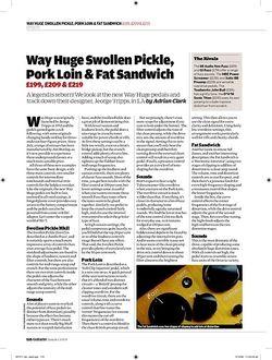 Guitarist Way Huge Swollen Pickle MK II