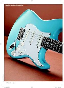 Guitarist Fender Eric Johnson Strat RW