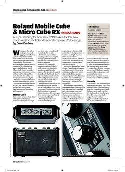Guitarist Roland Mobile Cube