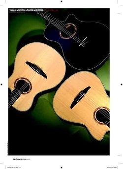 Guitarist Yamaha NTX700BL,