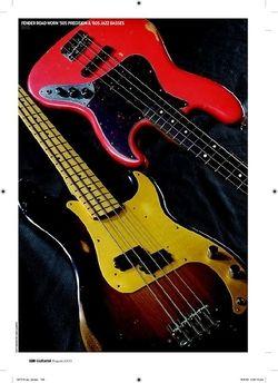 Guitarist Fender Road Worn 60s Jazz Bass