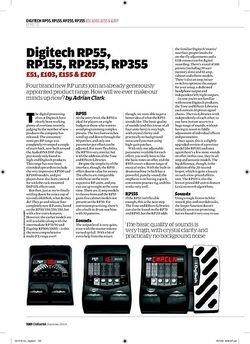 Guitarist Digitech RP55