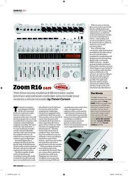 Guitarist Zoom R16
