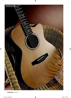 Guitarist Lakewood M32 CPG