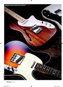 Guitarist Squier Classic Vibe Telecaster Thinline
