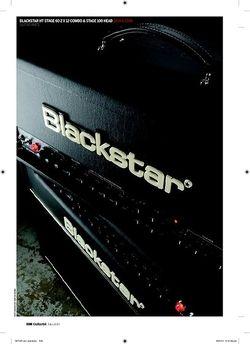 Guitarist Blackstar HT Stage 100 head