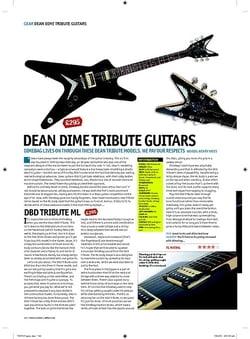 Total Guitar Dean DimeOFlame ML