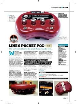 Total Guitar Line 6 Pocket Pod