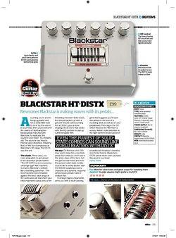 Total Guitar Blackstar HTDistX