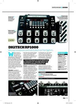 Total Guitar DIGITECH RP1000