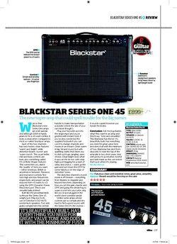 Total Guitar BLACKSTAR Series One 45