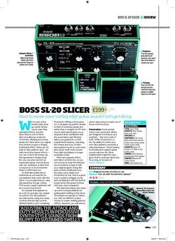 Total Guitar BOSS SL 20 Slicer