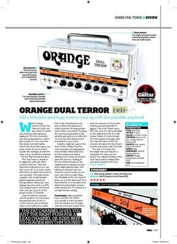 Total Guitar ORANGE DUAL TERROR