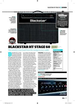 Total Guitar Blackstar HT Stage 60